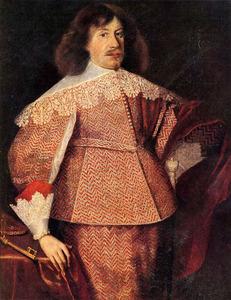 Portret van Janusz Radziwiłł 1612-1655)
