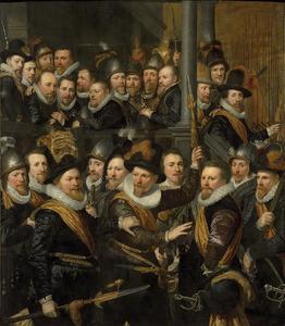 Portret van het Oranje Vendel van de Sint-Sebastiaansdoelen te Den Haag, 1616