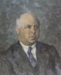 Portret van Willem Eduard Keuning (1887-1939)
