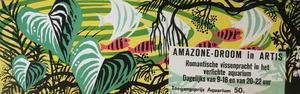 Artis-Aquarium-Tram-Affiche: Amazone-Droom in Artis