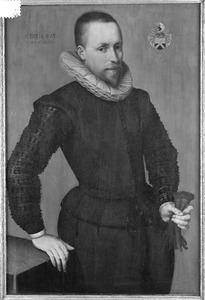 Portret van Huyg Huygensz. van Nes (1561-1632)