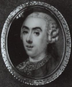Portret van Boudewijn de Roo (1739-1785)