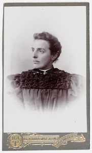 Portret van M. Ruyssenaars