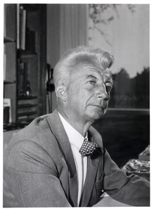 Portret van Willem Sandberg