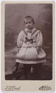 Portret van Jan Jacob van Geuns (1893-1959)