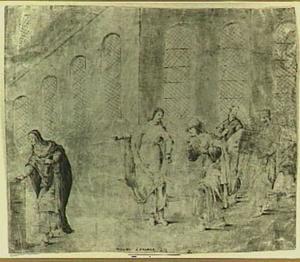 Het penningske van de weduwe (Marcus 12:42)