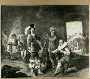 Teruggave van een gestolen ketting aan Gajus Rentzen, stadhouder des konings van Denemarken