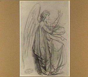 Zittende engel