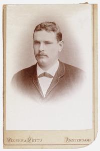 Portret van Charley Boeke (1868-1895)