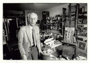Portret van Harm Kamerlingh Onnes in zijn huis