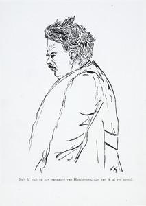 Portret van Bernardus Brouwer (1881-1949)