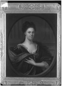 Portret van Wilhelmina de Witt (1671-1701)