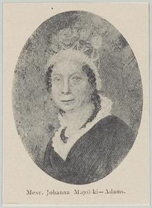 Portret van Johanna Christina Elisabeth Adams (1767-1844)