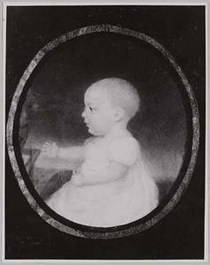 Portret van Anna Maria van Hasselt (1816-1854)