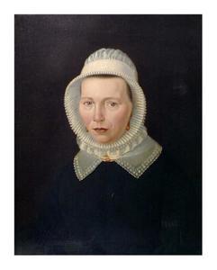 Portret vande vrouw van Mets