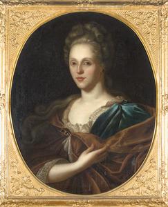 Portret van Maria Theodora Meerman (1671-1722)