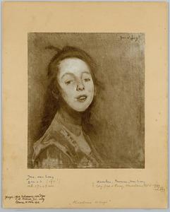 Portret van Haarlems meisje