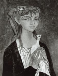 Portret van Johanna Helena Schreuder (1926- )