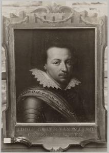 Portret van Adolf graaf van Nassau-Siegen (1584-1608)