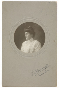Portret van Françoise Frederique Gobius (1880-...)