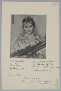 Portret van Mia Cuypers (1864-1944)