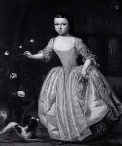Portret van Scheltina Anna Ida (Lauta) van Aysma ( -1763)