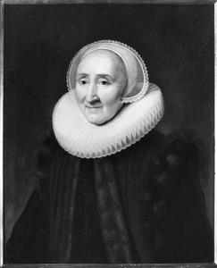 Portret van Volckera Knobbert (1554-1634)