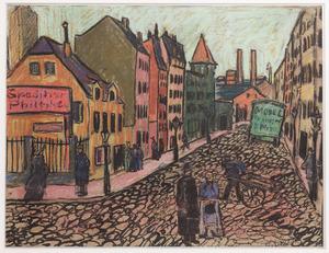 Straat in Dresden