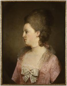 Portret van Johanna Voet van Winsen (1744-1790)