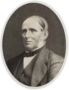 Portret van Willem van de Weg (1821-1886)