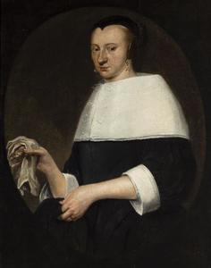 Portret van Elisabeth Keppel ( -1671)