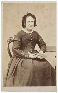 Portret van Johanna Maria Moonen (1818/1819-1905)