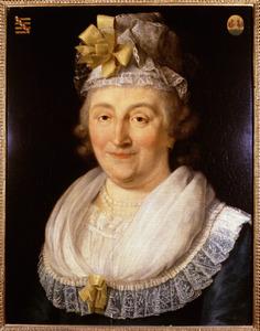 Portret van een vrouw, waarschijnlijk Barbara van der Does (1738-1818)
