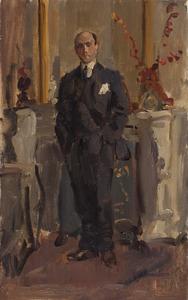 Portret van de componist Alexander Voormolen (1895-1980)