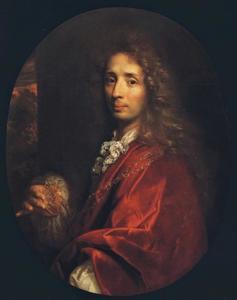 Portret van de medailleur Philippe Roëttiers II (1640-1718)