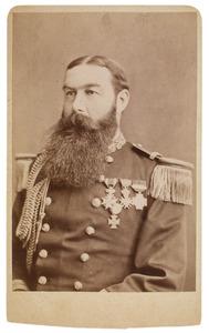 Portret van Willem baron van Hogendorp (1841-1925)