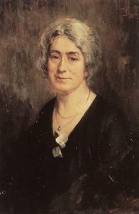 Portret van Suzanna Adriana Velsen (1883-1964)