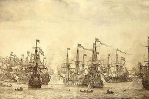 De mislukte aanslag van de Engelsen op VOC-vloot bij Bergen (Norwegen), 12 augustus 1665