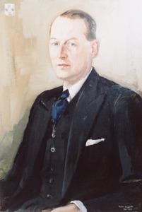 Portret van Louis Maria Emile von Fisenne (1911-1990)