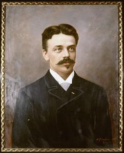 Portret van Arnold Albert Willem van Wulfften Palthe (1851-1929)