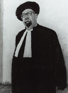 Portret van J.A. Schuering