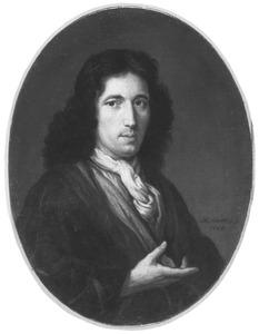 Portret van een man met een halsdoek 'à la Steinkerken'