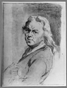 Portret van de kunstenaar Carel de Moor (1655-1738)