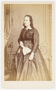 Portret van mw. A. Kock Meyer