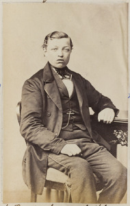 Portret van een onbekende jonge man
