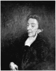 Portret van mevrouw Broers-van Beusekom