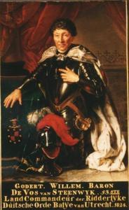 Portret van Godert Willem baron de Vos van Steenwijk tot Hoogenhof, Oldenhof en Havixhorst