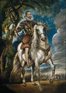 Ruiterportret van Francisco Gómez de Sandoval-Rojas y Borjas, Duque de Lerma (1553-1625)