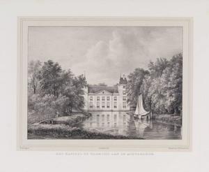 Achteraanzicht van kasteel Warmond