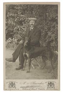 Portret van Cornelis Justinus van der Eerden (1877-1922)